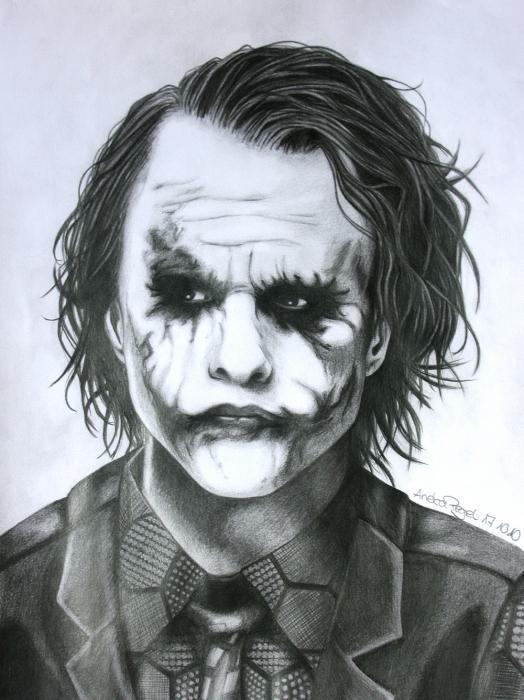 Heath Ledger by Aneka
